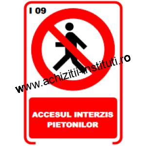 indicatoare de interzicere -09