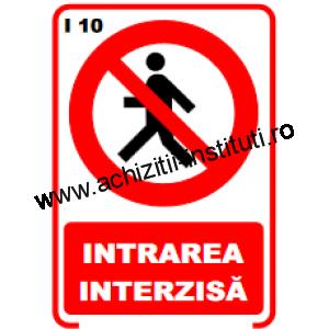indicatoare de interzicere 10