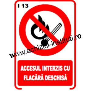 indicatoare de interzicere 13