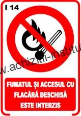 indicatoare de interzicere 14