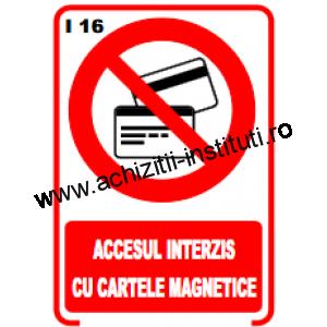 indicatoare de interzicere 16