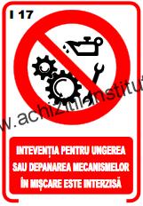 indicatoare de interzicere 17