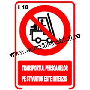 indicatoare de interzicere -18