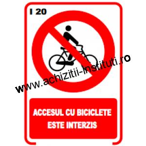 indicatoare de interzicere 20