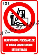 indicatoare de interzicere -21