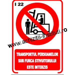 indicatoare de interzicere -22