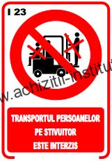 indicatoare de interzicere -2