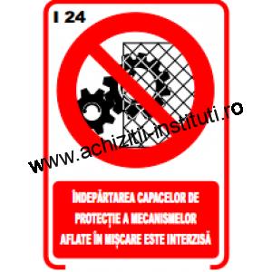 indicatoare de interzicere 24