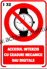 indicatoare de interzicere -32