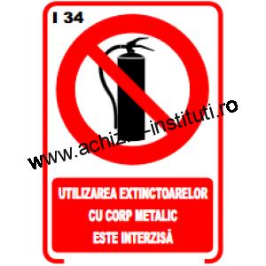 indicatoare de interzicere -34