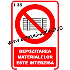 indicatoare de interzicere -35