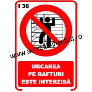 indicatoare de interzicere -36