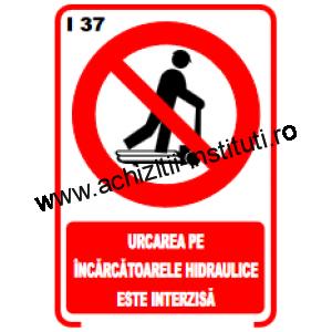 indicatoare de interzicere 37