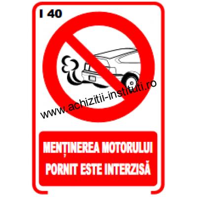 indicatoare de interzicere 40