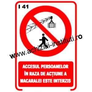 indicatoare de interzicere -41