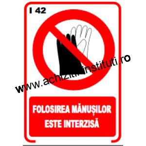 indicatoare de interzicere -42