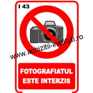 indicatoare de interzicere 43